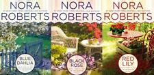 Nora Roberts IN THE GARDEN TRILOGY in LARGE TRADE PAPERBACK Editions Set 1-3