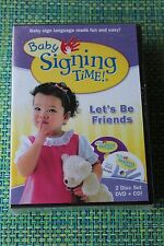 Baby Signing Time - Baby Sign Language Made Fun and Easy! (4 DVDs & 4 CDs)  New