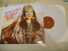 LP va les balalaikas du tziganes Ballets (9 chanson) Arion/Italy ethno