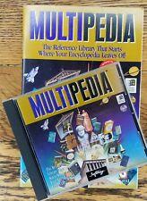 Multipedia by Softkey (1995, CD-ROM) Win 95 PC Encyclopedia Reference Windows