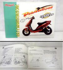"""Manuale """"Uso e Manutenzione""""- Owner's manual MALAGUTI PHANTOM F12 1°tipo"""