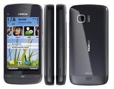 Nokia C5-03 Graphite Nero Grigio Nero C5 Symbian Smartphone Senza Simlock