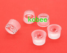 15 30 60 90 120 Degree Waterproof led Lens for 1W 3W 5W Hight Power LED