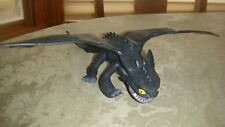 """RARE How To Train Your Dragon TOOTHLESS NIGHT FURY Action Figure 11"""""""