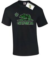 California Bear Weed T-SHIRT Weed Shirt Weed T-shirt California Republic Bear