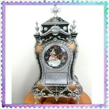 RARE NEW Disney Castle Clock L Beauty and the Beast 30cm(11.8inch) from JAPAN