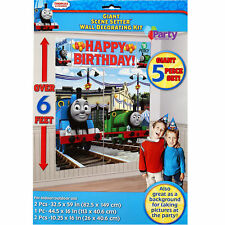 Thomas The Tank Engine Party Decorations Boys Birthday Supplies Scene Setter