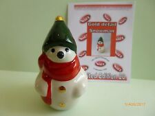 WADE GOLD DETAILED SNOWMAN LE 20