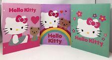 Hello Kitty 3 Pack Binder Pocket Folders