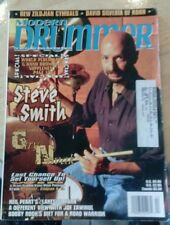MODERN DRUMMER MAGAZINE back issue STEVE SMITH APRIL 1997