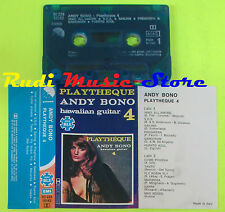 MC ANDY BONO Playtheque hawaiian guitar 4 italy EMI 3C 234 18162 cd lp dvd vhs