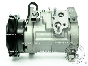 New AC A/C Compressor With Clutch Fits: 01-07 Dodge Caravan,Grand Caravan