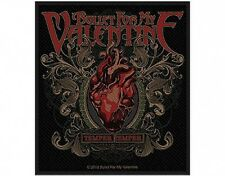 BULLET FOR MY VALENTINE temper temper 2013- WOVEN SEW ON PATCH official (sealed)