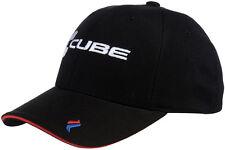 """CUBE CYCLES """" RACE PILOT """" CAP BLACK  CYCLING CAP SMALL - MEDIUM"""