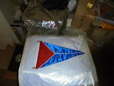 Clearwater FL Boat Yacht Club Harbor Boat Ship Marina Pennant Flag Burgee Sloop