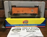 Athearn  Ho Scale Item No. 71318 Sioux City 40' Steel Reefer car #6043