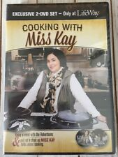 New & Sealed * Cooking With Miss Kay (2 DVD's) Duck Dynasty/The Robertsons *