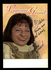 Vanessa Grand Autogrammkarte Original Signiert ## BC 88746
