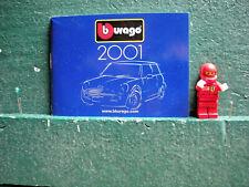 Bburago Burago paper pocket catalogue 2001 Italy - Italian period help please