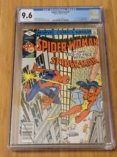 Spider-Woman #20 CGC 9.6/WP - 1st Meeting of Spider-Man & Spider-Woman - HOT!!