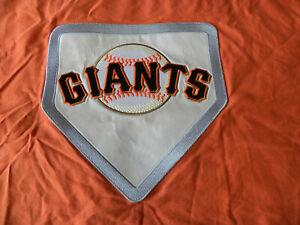 Pottery Barn Teen MLB Patch Twin Duvet Sham San Francisco Giants Orange Logo