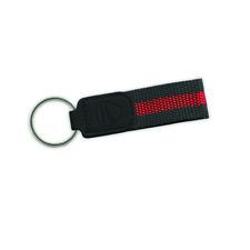 Original Ducati New City Schlüsselanhänger Keyring schwarz rot NEU