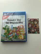 WONDER BOY: THE DRAGON'S TRAP - PS4 - LIMITED RUN GAMES #73 - REVERSIBLE COVER