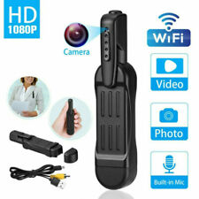 HD Pocket Pen Camera Hidden Mini Portable Body Clip Video Recorder DVR Real-time