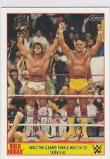 2015 Topps Champion Spotlight Card # 12 Hulk Hogan Survival Grand Finale