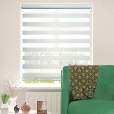ShadesU Zebra Dual Layer Roller Blinds Light Filtering Day & Night Window Shades