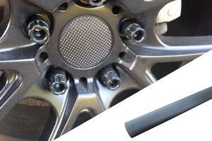4x Jantes en Alliage Volant Couvercle Design Wrap Film Aluminium Gris Pour Viele