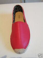 Maje Chaussures Cuir Plat femme Rouge Talon 3cm T40 Neuve