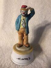 Emmett Kelly Jr Flambro Clown Looking Out Musical Figurine 8�
