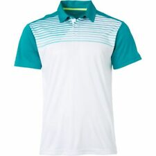 SLAZENGER Men's Chest Print Tennis Polo Shirt NWT Size: SMALL FREE SHIPPING