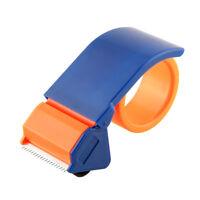 "2 Parcel Tape Gun Dispenser Hand Cutter Orange 48mm 50mm 2"" Quality"