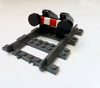 Lego City Train Custom End Track Set MOC for 3677 7898 7939 60098 60052 10219
