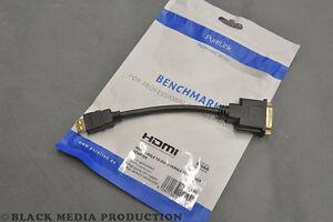 PureLink PI060 *Portsaver* | Video Adapter HDMI male auf DVI-D female *NEU*