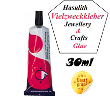 Jewelry & Crafts Glue Hasulith Vielzweckkleber Multipurpose Stones Adhesive 30ml