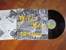 DIRTY KIDS 50 Songs LP ITALY POST PUNK RARE + INSERT NO CD