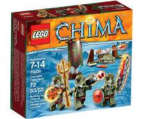 Lego 70231 Legends of Chima Crocodile Tribe Pack 72pcs