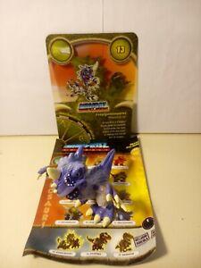 Personaggio ESAGIGANTOSAURUS N° 13 Dinofroz Combact 3ª Serie + Card e foglietto