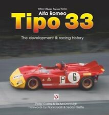 Alfa Romeo Tipo 33 The development and racing history paper book car