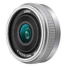 Panasonic Lumix G 14mm F2.5 II ASPH Lens - Silver     (H-H014AE-S)