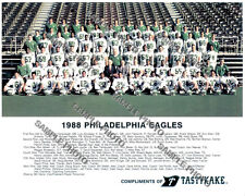 1988 PHILADELPHIA EAGLES NFL TEAM 8X10 PHOTO PICTURE