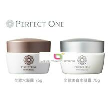 (1 Set) New Raffine Perfect One Moisture Gel 75g + Perfect One Whitening Gel 75g