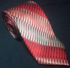 IRVINE PARK Red Men's Neck Tie Necktie 100% Silk