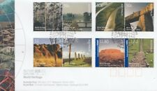 2005 World Heritage Sites Australian Stamps FDC