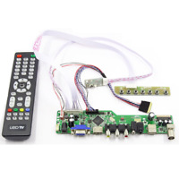 New Kit for LTN156AT24 TV+HDMI+VGA+USB LCD LED screen Controller Driver Board