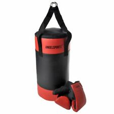 Angel Sports Punching Bag with Gloves Children Boxing Mitts Play Set 704040
