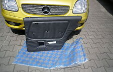Mercedes W123 Türverkleidung, hinten rechts, NEU MB-Tex schwarz